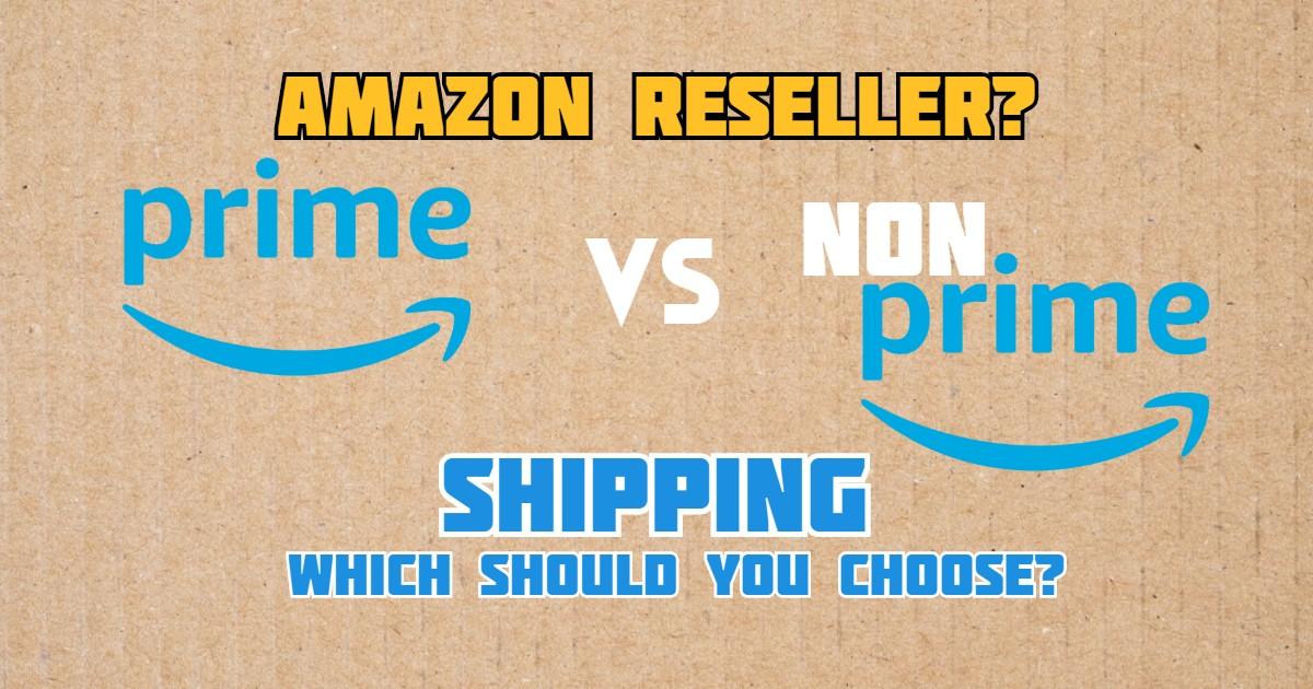 prime vs non-prime shipping