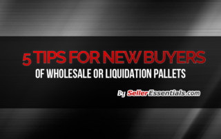5 tips for new buys of wholesale or liquidation pallets