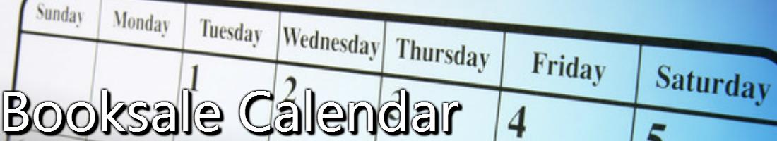 Booksale Calendar