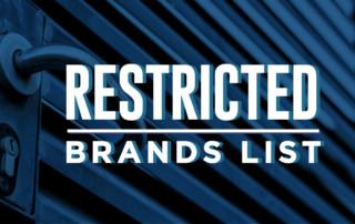 Amazon Restricted Brands List