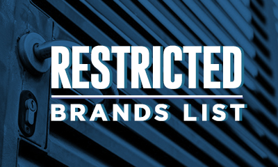 Amazon Restricted Brands List