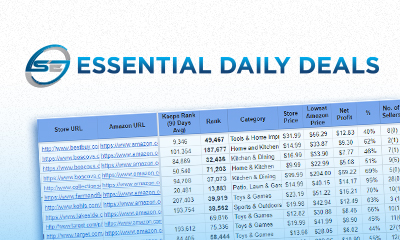 Essential Daily Deals - Online Arbitrage deals list