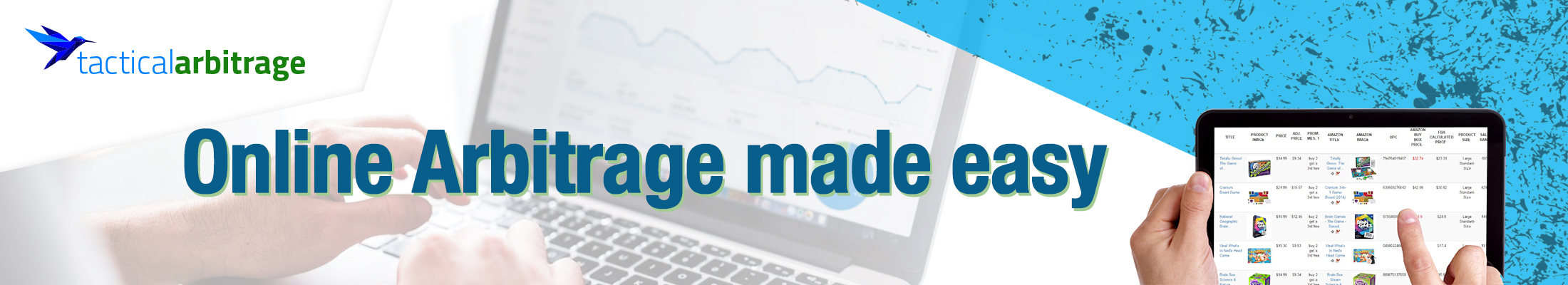 Tactical Arbitrage - Online Arbitrage Made Easy
