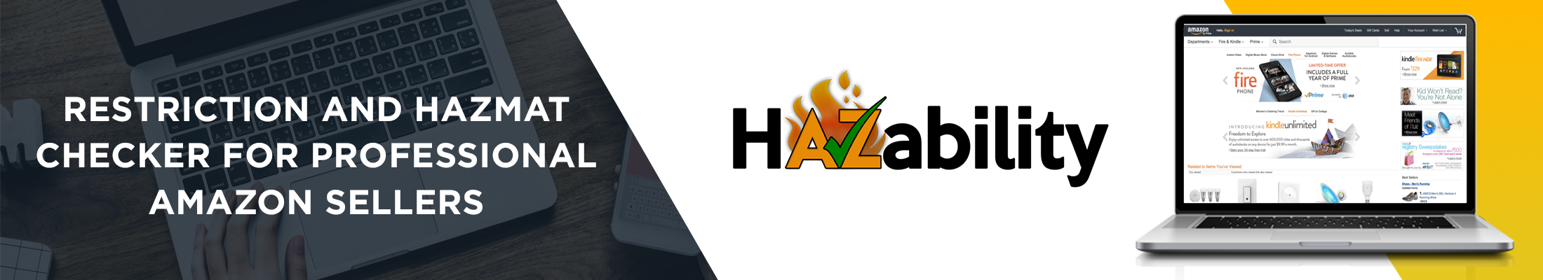 HAZability - Restriction and Hazmat checker for Professional Amazon Sellers