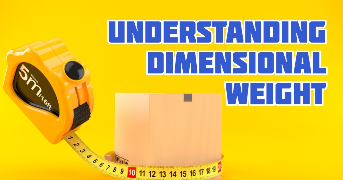 Understanding Dimensional Weight